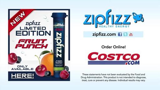 Zipfizz® Fruit Punch Healthy Energy Drink Mix