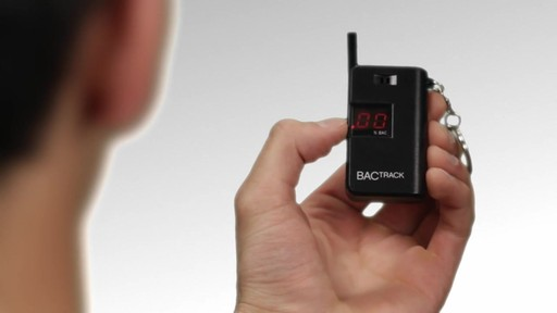 BACtrack Keychain Breathalyzer  - image 7 from the video