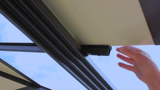 Santa Monica 10 X 13 Aluminum Roof Gazebo - image 9 from the video