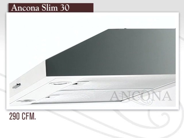 Ancona Slim Under Cabinet Range Hood   Image 1 From The Video