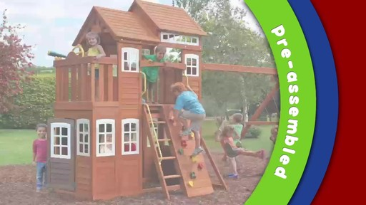 Mount forest lodge playset welcome to costco wholesale mount forest lodge playset image 9 from the video publicscrutiny Image collections
