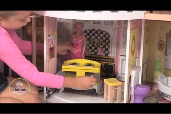 Kidkraft Magnolia Mansion Dollhouse Get Home Inteiror House