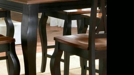 Beautiful Roslyn 7 Piece Rectangle Counter Height Dining Set   Image 6 From The Video