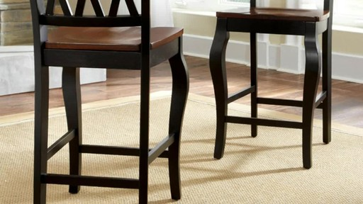 Roslyn 7 Piece Rectangle Counter Height Dining Set