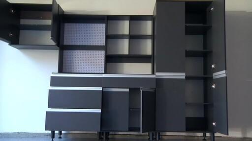 duracabinet garage storage hardware video gallery. Black Bedroom Furniture Sets. Home Design Ideas