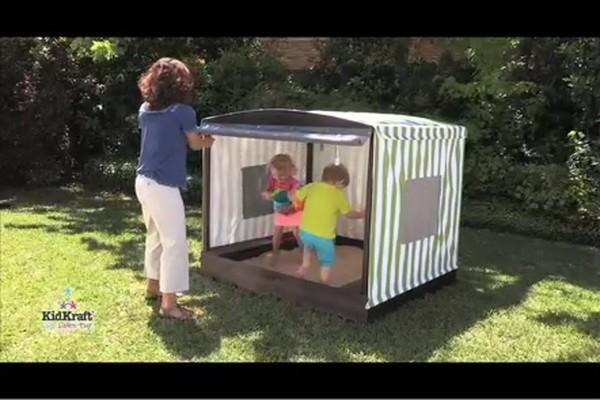 KidKraft Cabana Youth Sandbox » Outdoor Play - Baby - Kids ...