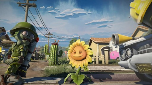 Plants vs zombies garden warfare video game image 7 from the video