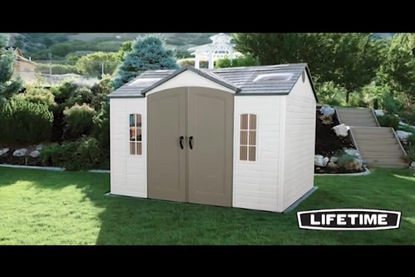 Lifetime 10 X 8 Side Entry Shed 187 Welcome To Costco Wholesale