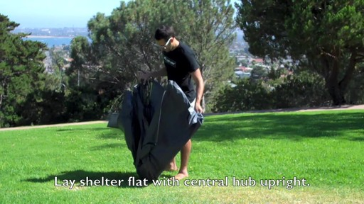Lightspeed Outdoors® Sun Shelter - image 1 from the video