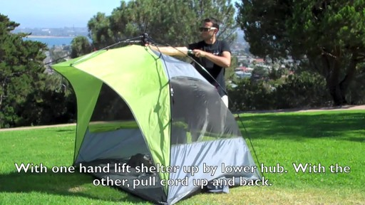 Lightspeed Outdoors® Sun Shelter - image 3 from the video