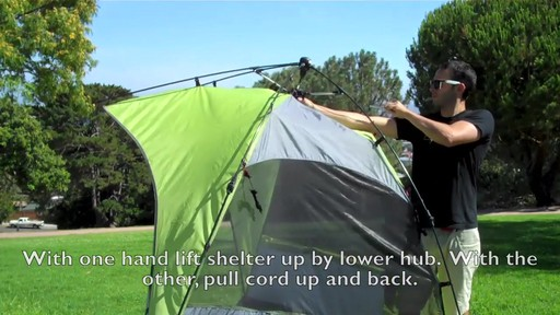 Lightspeed Outdoors® Sun Shelter - image 4 from the video