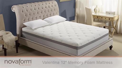 Novaform 12 Valentina Memory Foam Mattress Welcome To Costco Wholesale