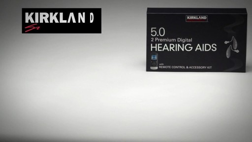 Kirkland Signature 5.0 Premium Hearing Aids - image 6 from the video
