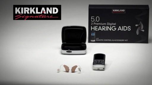 Kirkland Signature 5.0 Premium Hearing Aids - image 7 from the video