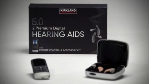 Kirkland Signature 5.0 Premium Hearing Aids - image 9 from the video