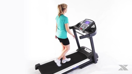 XTERRA® TR6.45 Folding Treadmill - Assembly Included - image 2 from the video