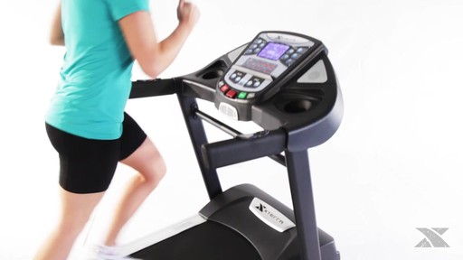 XTERRA® TR6.45 Folding Treadmill - Assembly Included - image 6 from the video