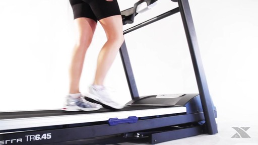 XTERRA® TR6.45 Folding Treadmill - Assembly Included - image 7 from the video