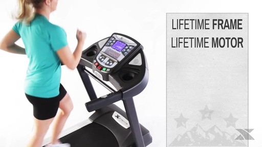 XTERRA® TR6.45 Folding Treadmill - Assembly Included - image 9 from the video