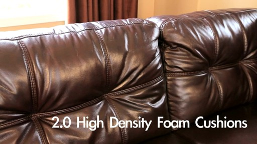 landsford leather sectional and ottoman welcome to costco wholesale