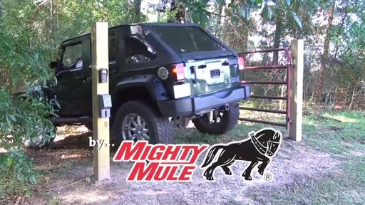 Automatic Cable-Gate Lock by Mighty Mule - image 10 from the video