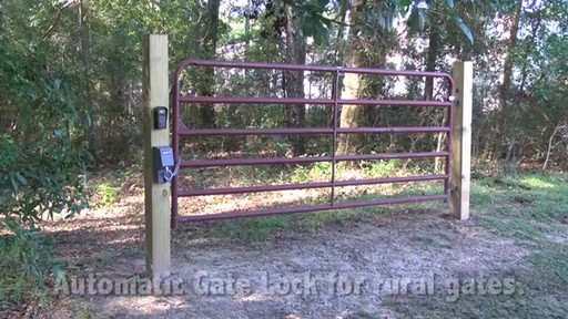 Automatic Cable-Gate Lock by Mighty Mule - image 6 from the video