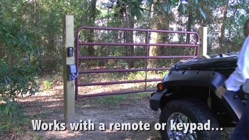 Automatic Cable-Gate Lock by Mighty Mule - image 7 from the video