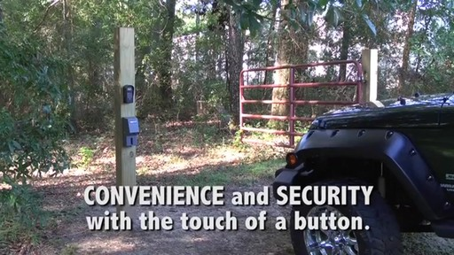 Automatic Cable-Gate Lock by Mighty Mule - image 9 from the video