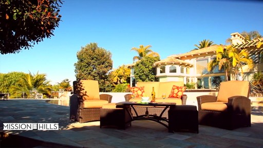 Santa Fe 6-piece Deep Seating Set by Mission Hills - image 2 from the video