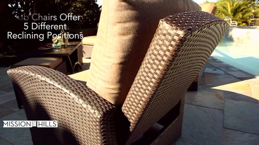 Santa Fe 6-piece Deep Seating Set by Mission Hills - image 5 from the video