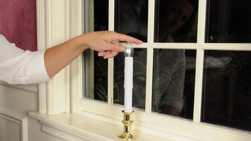 LED Battery Operated Flickering Window Candles » Video Gallery
