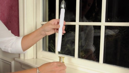 Led Battery Operated Flickering Window Candles 187 Video Gallery