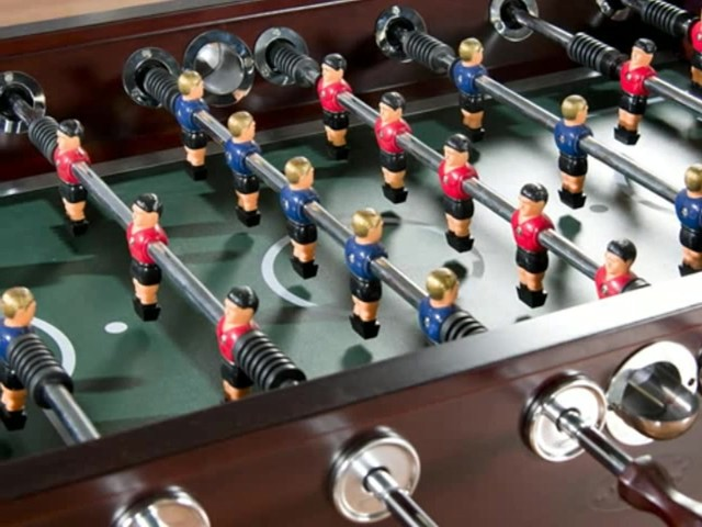 American Heritage Cambridge Foosball Table - image 5 from the video