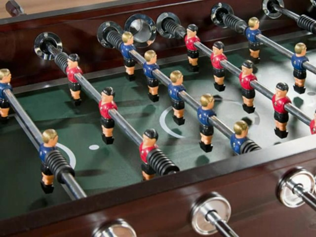 American Heritage Cambridge Foosball Table - image 6 from the video