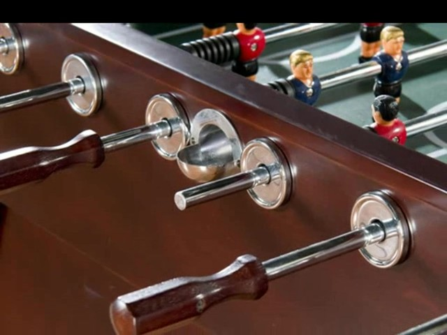 American Heritage Cambridge Foosball Table - image 7 from the video