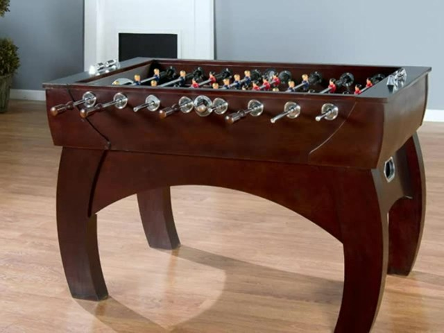 American Heritage Cambridge Foosball Table - image 9 from the video