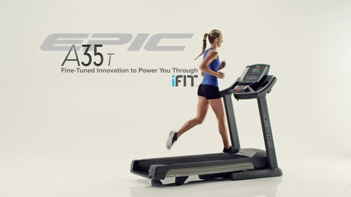 Epic® A35T Treadmill - image 10 from the video