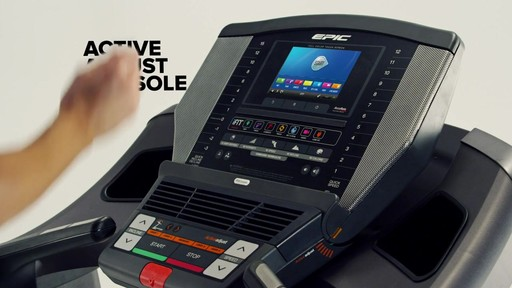 Epic® A35T Treadmill - image 6 from the video