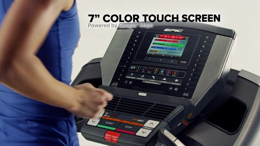 Epic® A35T Treadmill - image 8 from the video