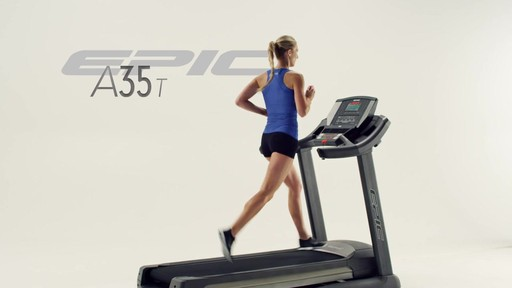 Epic® A35T Treadmill - image 9 from the video