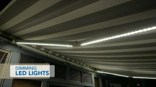 SunSetter Dimming LED Awning Lights   Image 2 From The Video