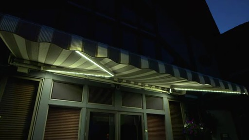 SunSetter Dimming LED Awning Lights   Image 6 From The Video