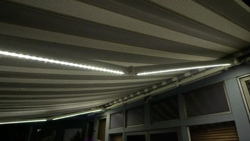 SunSetter Dimming LED Awning Lights   Image 9 From The Video