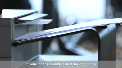 HP Officejet Pro X - image 6 from the video