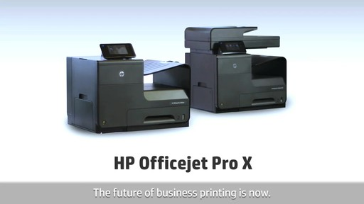 HP Officejet Pro X - image 7 from the video