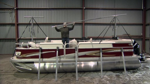 Costco Boat Shelter : Navigloo all in one boat cover system sports welcome