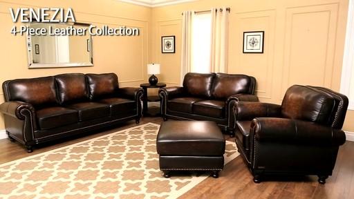 venezia 4 piece leather set  u00bb welcome to costco wholesale