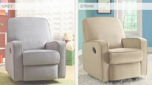 Dawson Swivel Glider Recliner - image 10 from the video