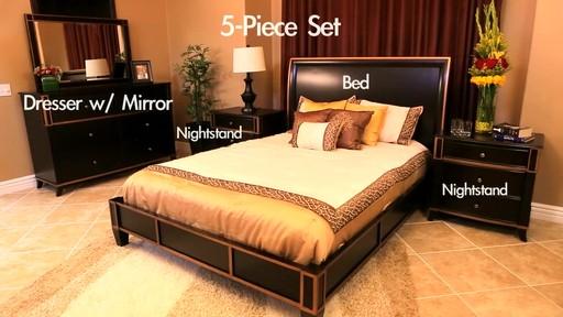 Central Park Bedroom Set Video Gallery