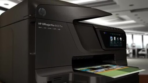 HP OfficeJet Pro 8600 - image 1 from the video